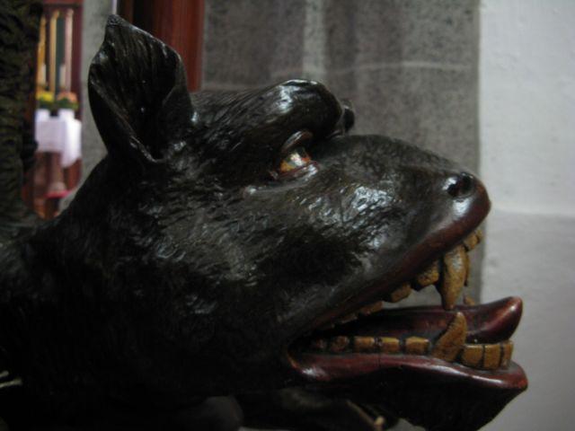 Zdjęcia: kosciol St.Martenn, oberösteraich, rzezba z koscielnej ambony, AUSTRIA