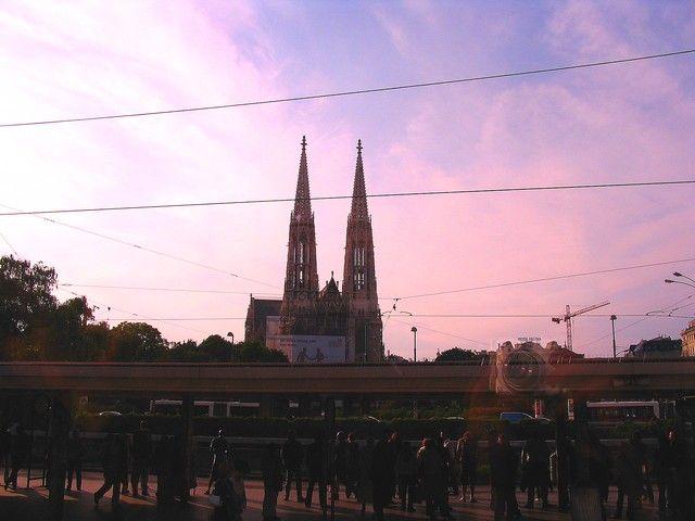 Zdjęcia: Wiedeń, Wieże katedry św Stefana, AUSTRIA