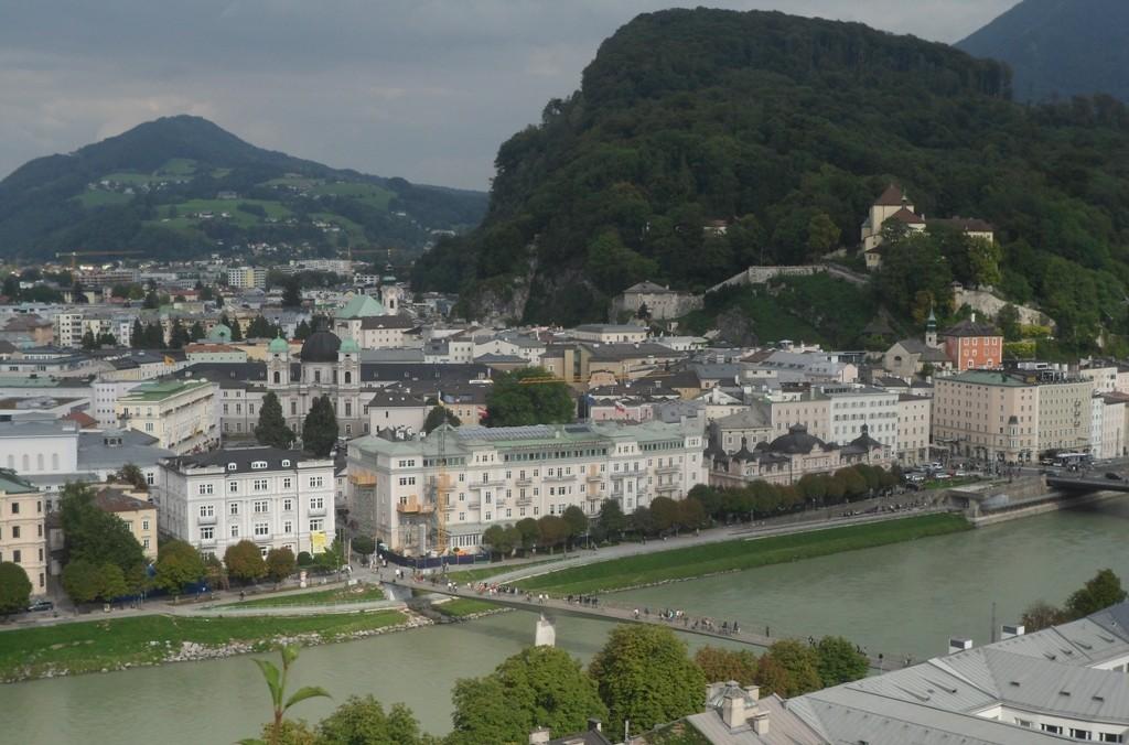 Zdjęcia: Salzburg, Tyrol, nad rzeką Salzach, AUSTRIA