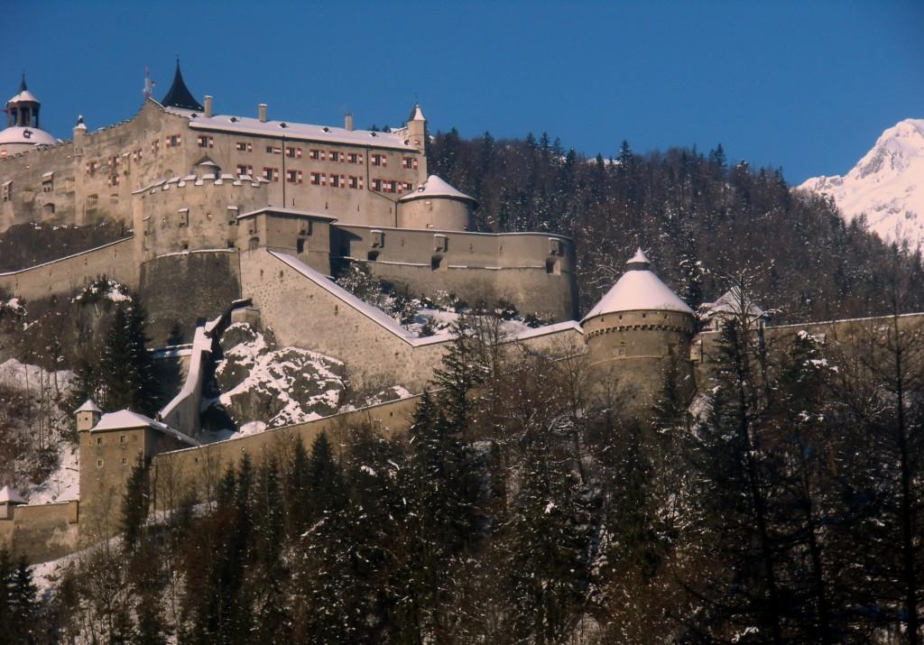 Zdjęcia: zamek Hohenwerfen, Salzburg, zamek Hohenwerfen , AUSTRIA