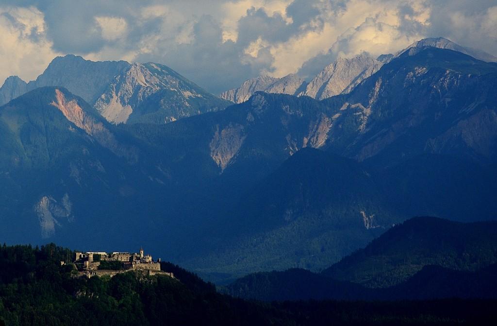 Zdjęcia: Okolice Villach, Okolice Villach, W drodze do Toskanii-okolice Villach, AUSTRIA