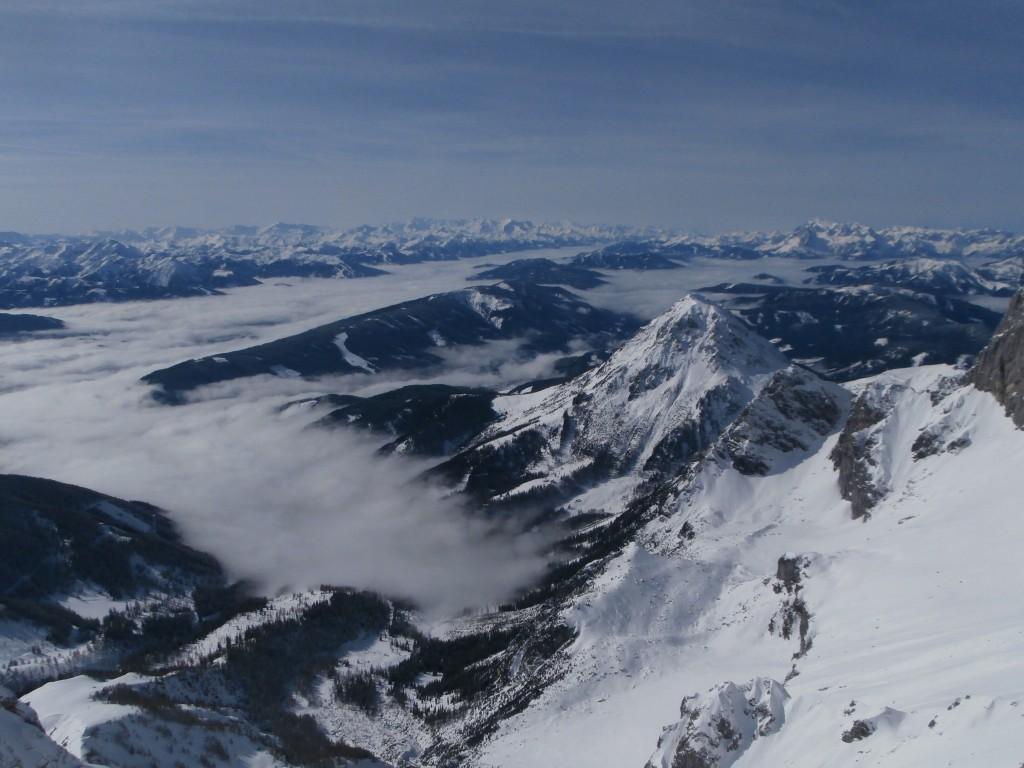 Zdjęcia: Ramsau am Dachstein, Alpy, Alpy z lodowca Dachstein, AUSTRIA