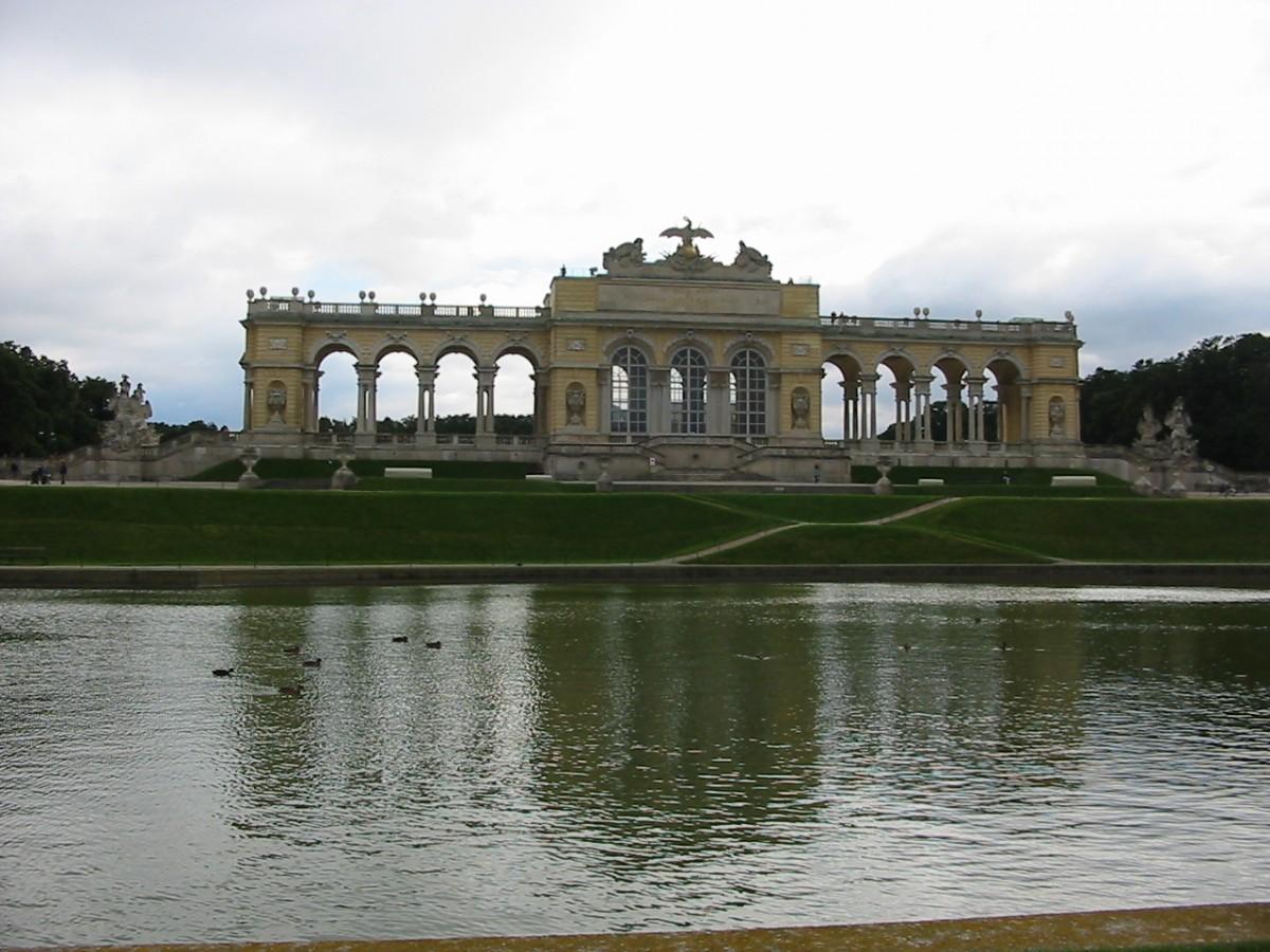 Zdjęcia: Schonbrunn, Wiedeń, Gloriette w Schonbrunn, AUSTRIA