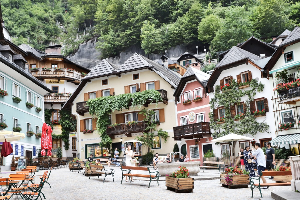 Zdjęcia: HALLSTATT, Górna Austria, Cukierkowy Hallstatt, AUSTRIA