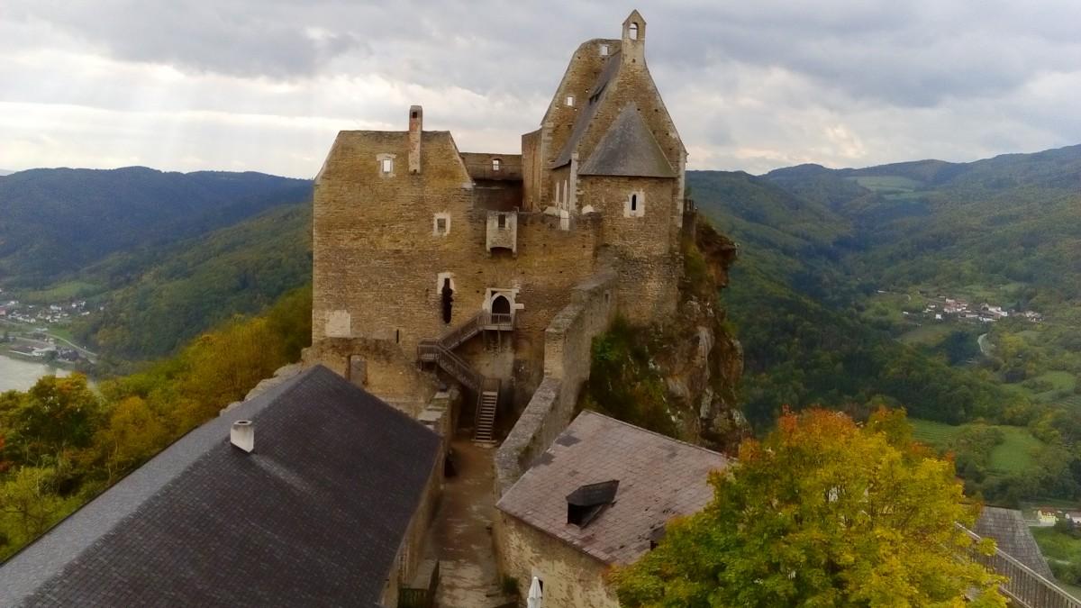 Zdjęcia: Aggstein, Dolina Wachau, Zamek Aggstein, AUSTRIA