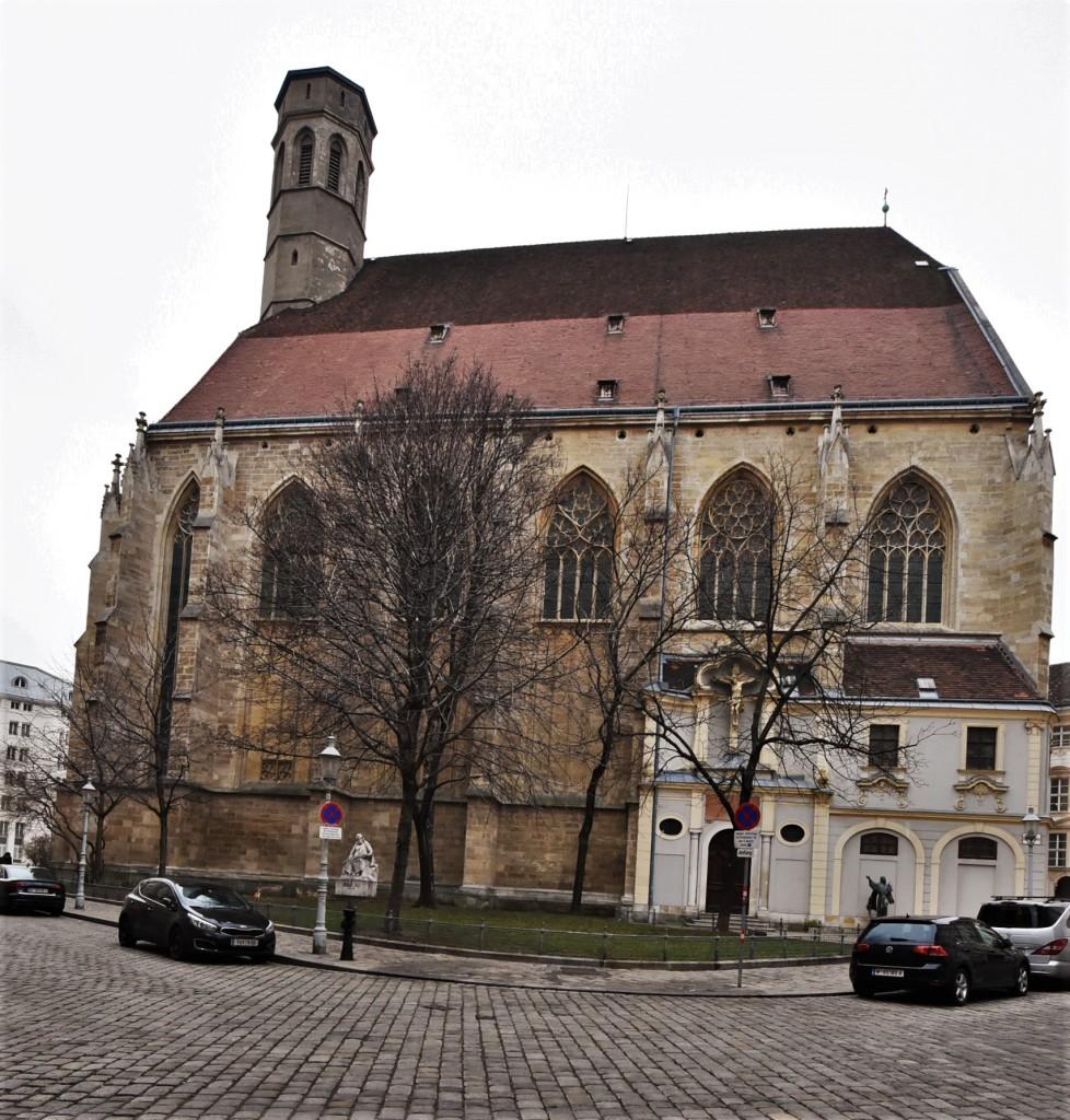 Zdjęcia: Wiedeń, Stolica, Dawny kościół franciszkański, AUSTRIA
