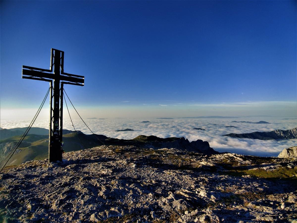 Zdjęcia: hochschwab, alpy, Szczyt Hochschwab 2277 m, AUSTRIA
