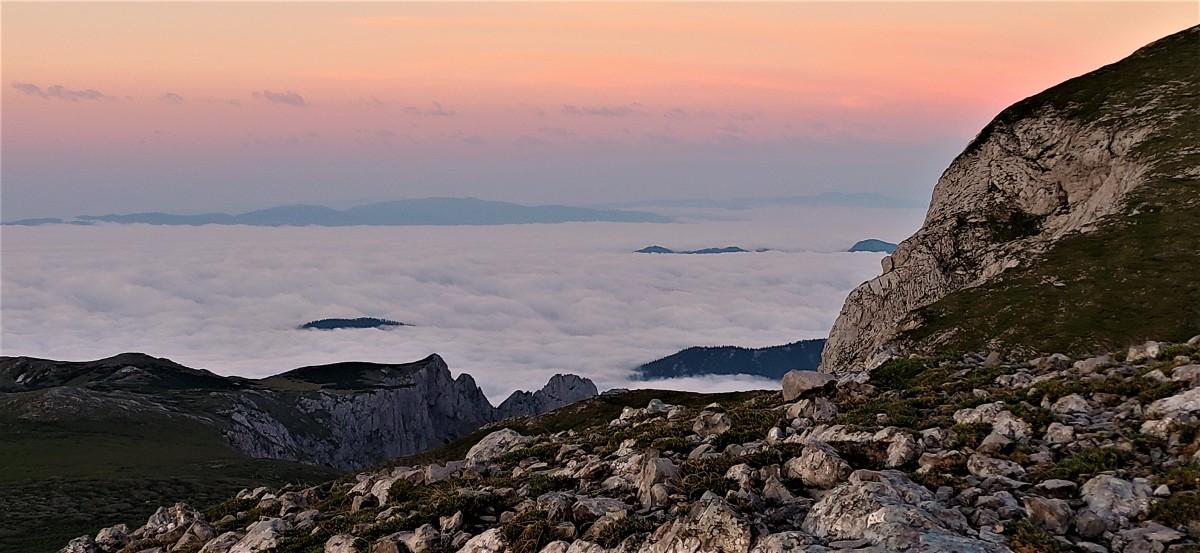 Zdjęcia: na szlaku, alpy, Wschód słońca powyżej..., AUSTRIA