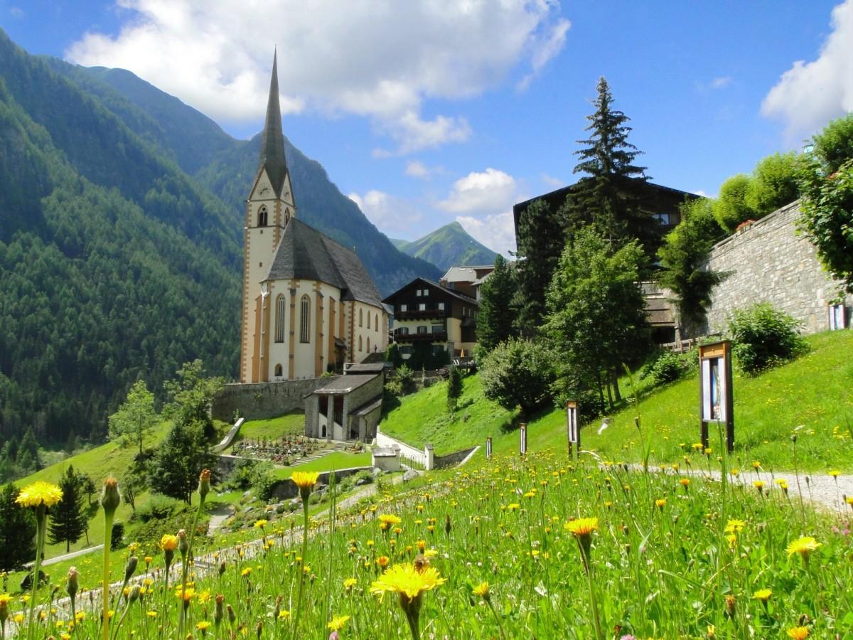 Zdjęcia: Heiligenblut , Karyntia, Lato w Alpach, AUSTRIA