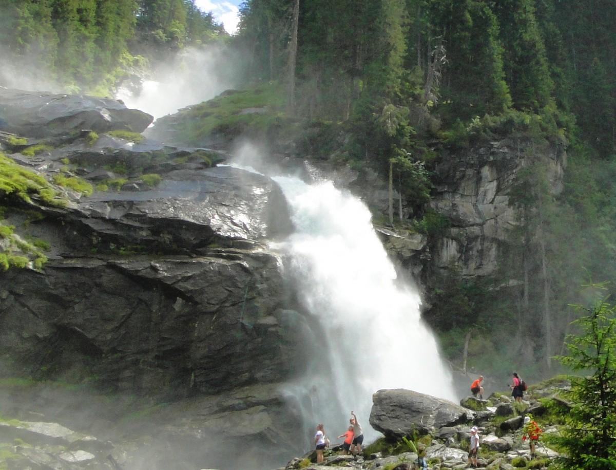 Zdjęcia: Krimml, Salzburg, Wodospady Krimml, AUSTRIA