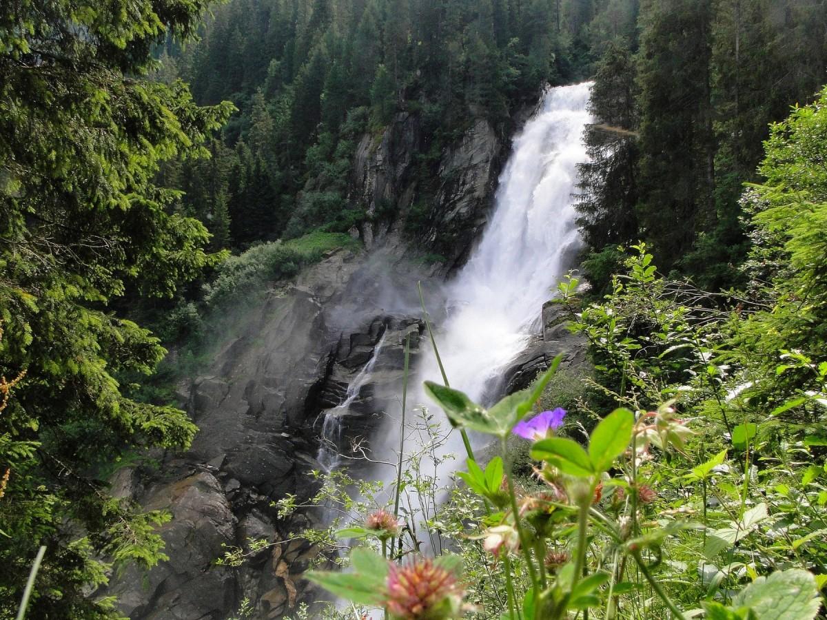 Zdjęcia: Krimml, Ziemia Salzburska, Wodospady Krimml, AUSTRIA