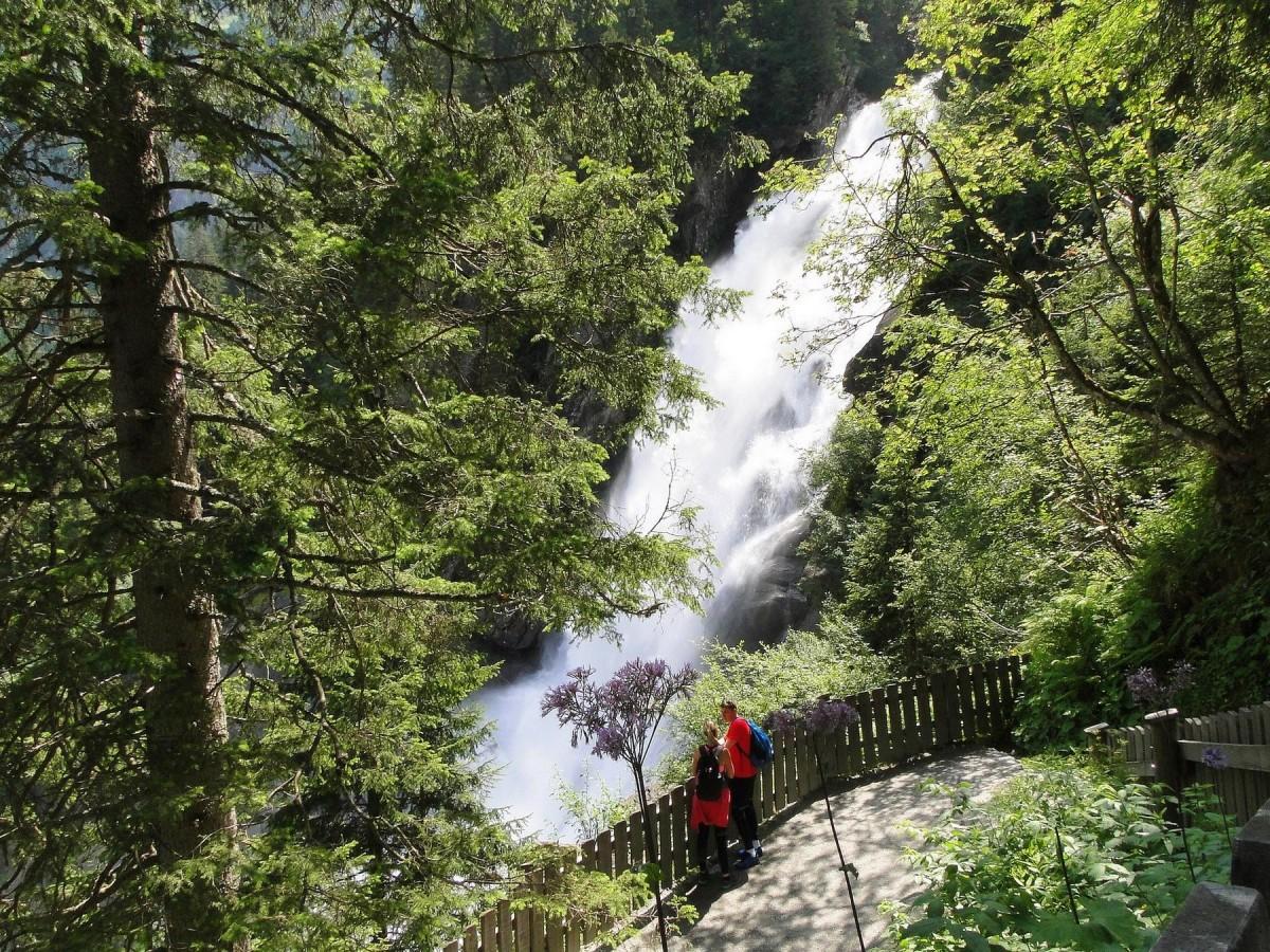Zdjęcia: Krimml, Kraj Salzburski, Wodospady Krimml, AUSTRIA