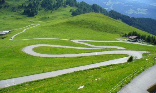Zdjecie AUSTRIA / - / Kitzbuhel Horn / zjazd...