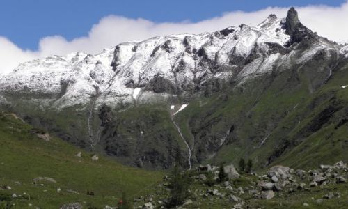 Zdjecie AUSTRIA / alpy / grossglockner lodowiec / Alpy