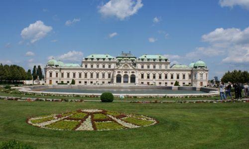 Zdjecie AUSTRIA / - / Wiedeń / Belweder