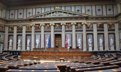 Zdjecie AUSTRIA / - / Wiedeń / Parlament