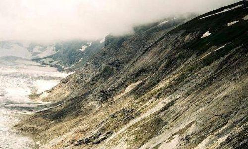 Zdjęcie AUSTRIA / Karyntia, Tyrol Wschodni / Lodowiec Pasterze / Zbocze lodowca