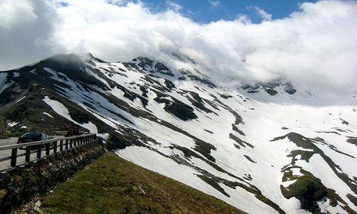 Zdjecie AUSTRIA / Karyntia, Tyrol Wschodni / Hochalpenstrasse - droga do Edelweissspitze / Alpejska droga do szczytu