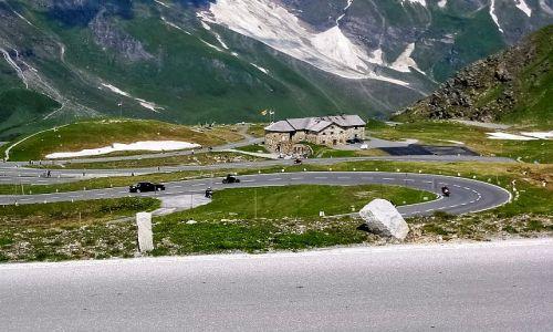 Zdjęcie AUSTRIA / Karyntia, Tyrol wschodni / droga do Lodowiec Pasterze / Droga do szczytu