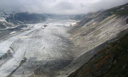AUSTRIA / Karyntia, Tyrol wschodni / Lodowiec Pasterze / Rzut oka na lodowiec