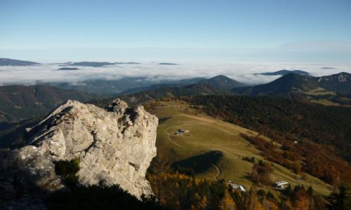 Zdjecie AUSTRIA / Niederoesterreich / Schneeberg / jesienia góry są najszczersze