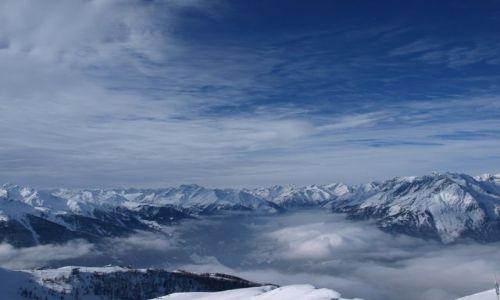 Zdjecie AUSTRIA / - / Grossglockner / Krajobraz na ochłodę