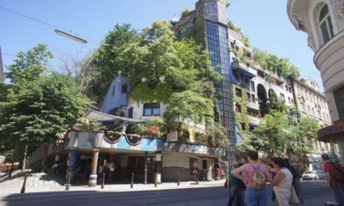 Zdjecie AUSTRIA / Wiedeń / Hundertwasser / Wiedeń