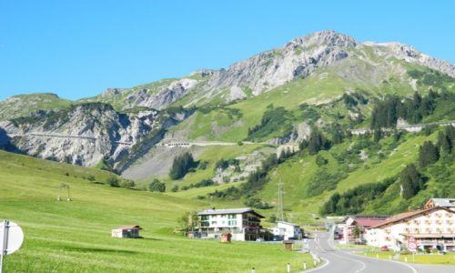 Zdjęcie AUSTRIA / alipy / alpy / okolice Steeg drga w alpach nr 198