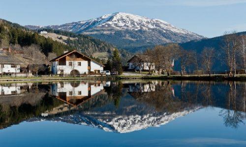Zdjecie AUSTRIA / Tyrol / Ladis / w lustrze
