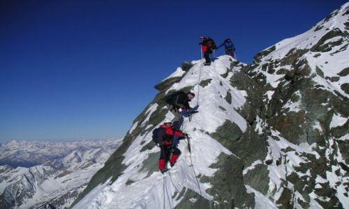 AUSTRIA / Wysokie Taury / Glockner / podejście na szczyt Grosglocknera