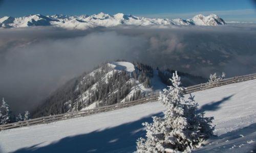 Zdjecie AUSTRIA / Wyskie Taury / Bad Hofgastein / Ponad mglą