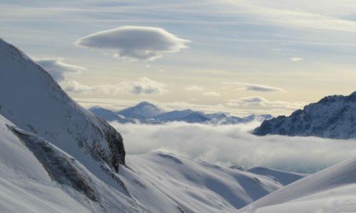 Zdjecie AUSTRIA / Zillertal / Kaltenbach / Płynąć we  mgle
