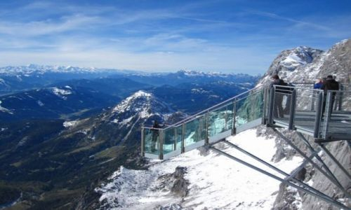Zdjecie AUSTRIA / Alpy Salzburskie / Dachstein / robi wrażenie:)