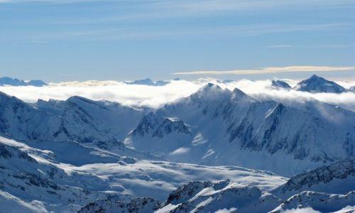Zdjecie AUSTRIA / Tuxer / Hintertux / Widok z lodowca