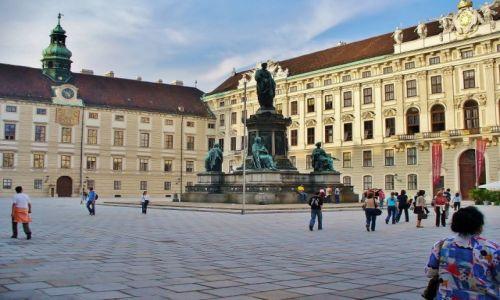 Zdjęcie AUSTRIA / Wiedeń / Wiedeń / Hofburg