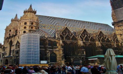 Zdjęcie AUSTRIA / Wiedeń / Wiedeń / Wiedeń, katedra św. Stefana
