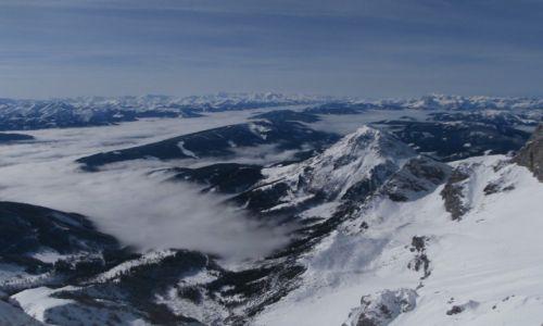 Zdjęcie AUSTRIA / Alpy / Ramsau am Dachstein / Alpy z lodowca Dachstein