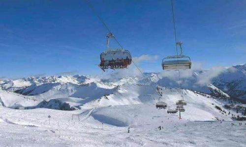 AUSTRIA / Vorarlberg / Vorarlberg / Vorarlberg: jazda na nartach