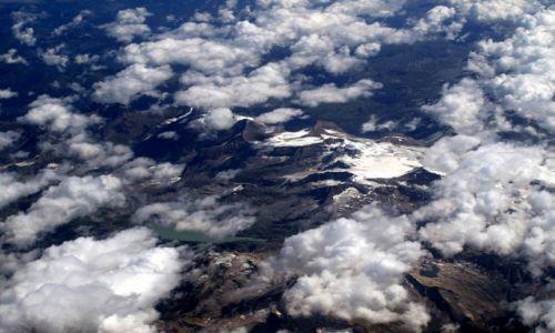 AUSTRIA / południowa Austria / Alpy / w górach lodowiec