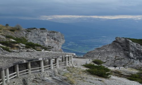 Zdjecie AUSTRIA / Alpy Salzburskie / Góry Tennen / w drodze  do jaskini Eisriesenwelt