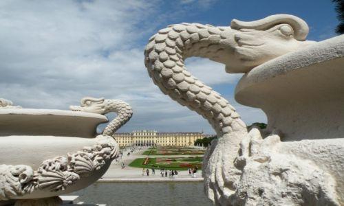 AUSTRIA / Wiedeń / Pałac Schönbrunn / Pałac Schönbrunn