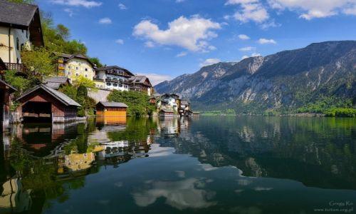 AUSTRIA / Alpy / Hallstatt / Hallstatt