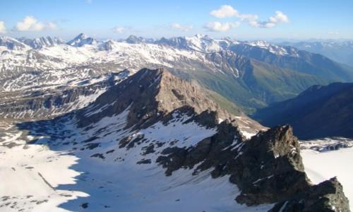 Zdjęcie AUSTRIA / Alpy Centralne / Taury Wysokie / W drodze na Grossglockner.