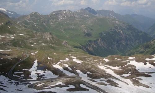 Zdjęcie AUSTRIA / Alpy Centralne / Taury Wysokie / Wysokogórska droga alpejska.
