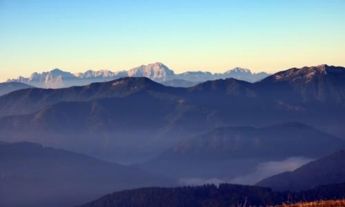 Zdjecie AUSTRIA / Alpy Gailtalskie z widokiem na Alpy Julijskie / Goldeck / Alpejski wsch�d