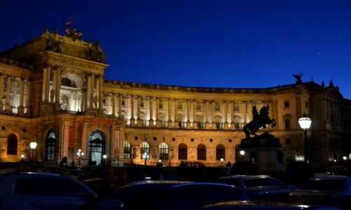 Zdjęcie AUSTRIA / Wiedeń / Hofburg / rezydencja