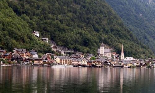 Zdjecie AUSTRIA / Salzkammergut / Hallstatt / Hallstatt w des