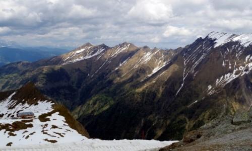 Zdjecie AUSTRIA / kraj związkowy  Salzburg / Kaprun / - panorama z platformy widokowej -
