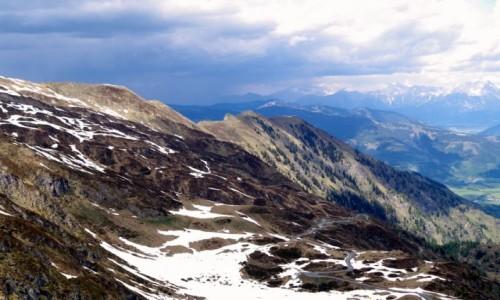 Zdjęcie AUSTRIA / kraj związkowy  Salzburg / Kaprun / -widoki z gondoli -