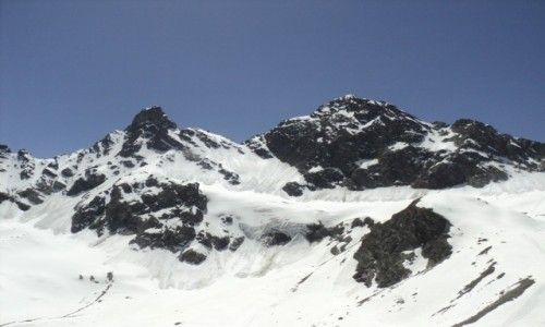 Zdjęcie AUSTRIA / Silvretta Montafon / Groses Seehorn / Alpy